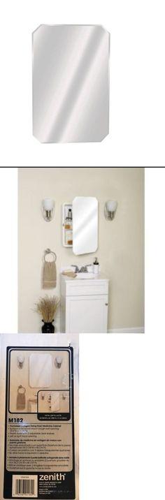 Zenith Bathroom Mirrors medicine cabinets 176991: zenith 22 in. white medicine cabinet w