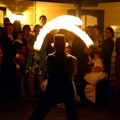 How about some hot entertainment for something different? :: Photo by Nathania Springs Receptions :: Dandenong Ranges, Victoria, Australia
