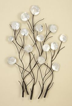 Wall Art Design Ideas: Metal Floral Wall Art Home Accents, Floral Canvas Wall  Art Wall Art Metal Floral Metal Wall Decor Floral Canvas Art Flowers Metal  ...