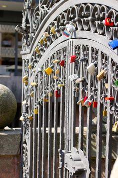 Love Locks in Nuremberg, Germany Places To Travel, Places To Visit, Nuremberg Germany, World Cruise, Love Lock, Sunset Sky, Family Adventure, Culture, Locks