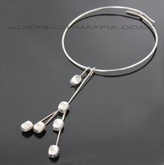 Bent Knudsen Modernist Kinetic Necklace Denmark