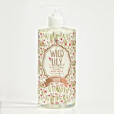 Wild Lily Hand & Body Wash | Mozi
