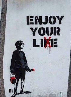 Banksy& 189 murals, graffiti and street art - .- Banksy& 189 duvar resmi, grafitisi ve sokak sanatı – Banksy& 189 murals, graffiti and street art – # the # Art - Street Art Banksy, Banksy Art, Bansky, Banksy Quotes, Street Art Quotes, Graffiti Quotes, Banksy Canvas, Graffiti Kunst, Graffiti Murals