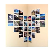 Simple, easy, orderly photo display to brighten up your dorm room! 21 Dorm Room DIY Projects to Customize Your Space Diy Wand, Mur Diy, Photowall Ideas, Decoration Photo, Decoration Pictures, Wall Decor Pictures, Wall Photos, Ideias Diy, Diy Wall Art