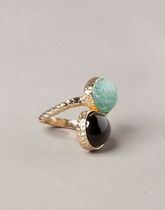 RING WITH STONES - NEW PRODUCTS - WOMAN - Serbia