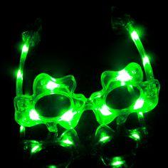 Shamrock LED Glasses & Flashing Glasses | GF Brand