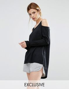 Buy it now. Stitch & Pieces Cold Shoulder Top - Black. Top by Stitch Pieces, Soft-touch knitted fabric, Scoop neckline, Cold shoulder cut, Long sleeves, Dipped hem, Relaxed fit, Machine wash, 100% Polyester, Our model wears a UK S/EU S/US XS, Exclusive to ASOS. ABOUT STITCH PIECES Designed in London, Stitch Pieces' beautifully crafted line is for fashion free spirits and dreamers. With a focus on luxury knitwear, we love its slouchy knits, hooded ponchos and statement jumpers. Click here for…