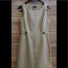 I just added this to my closet on Poshmark: J. CREW Sz 6 BLACK LABEL 100% Linen Sheath Dress. Price: $41 Size: 6