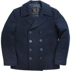 Alpha Industries USN Pea Coat (black winter pea coat, not specifically this  one) 0d5ba9807af