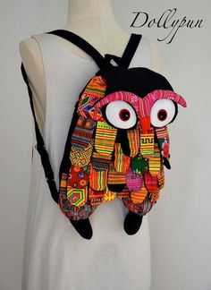 Jumbo owl backpack