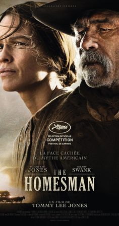 A claim jumper and a pioneer woman team up to escort three insane women from Nebraska to Iowa. Tommy Lee Jones, Hilary Swank