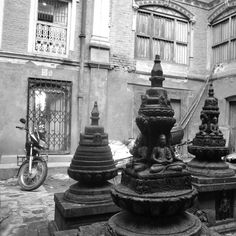 The Stupas  The Land of the Himalayas, Nepal, destroyed by the catastrophic earthquake.  All prints are limited edition and will be sold for INR 2000 ($30). Proceeds will be donated to ActionAid, Nepal.  #DonateForEarthquakeReliefNepal #actionaid #nepal  Photographed by Aleesa Mehra, August 2013.