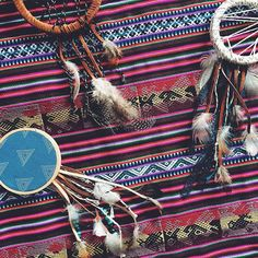 Peruvian fabrics are the BEST // Dreamcatcher No 8 + No 1 + No 11 from Bast + Bruin