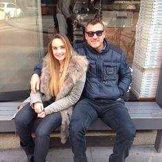 #ChristianVieri Christian Vieri: Bobo e la nipotina Carlotta da Pino