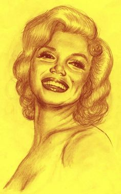 Portrait of Marilyn Monroe by ValoYossa on Stars Portraits, the biggest online gallery for celebrity portraits. Marilyn Monroe Drawing, Marylin Monroe, Celebrity Portraits, Her Smile, Online Gallery, Real People, Caricature, Art Boards, Illustration Art