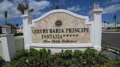 DOMINIKANA 4K Luxury Grand Bahia Principe Fantasia Punta Cana SONY FDR-X...