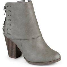 d7f80a849f6f Women s High Heel Corset Lace Chunky Heel Ankle Boots - Walmart.com
