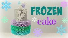 Disney's Frozen Cake Tutorial