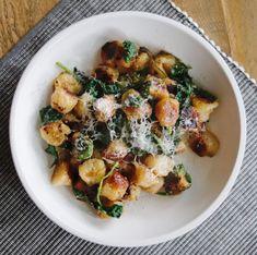 RECIPE | Parmesan-Lemon Trader Joe's Cauliflower Gnocchi