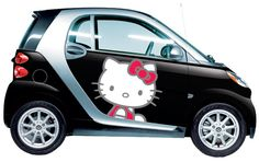 uh oh..... Hello Kitty vehicle wrap.... duh... must have - but my hubby would definitely kill me ... haha