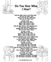 do you hear what i hear lyrics christmas songs lyrics christmas sheet music - Best Christmas Lyrics
