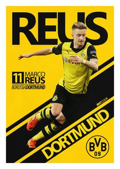 Marco Reus by Jim Porter, via Behance