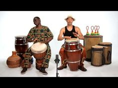 Djembe vs. Conga | African Drums - YouTube