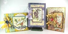 Really Reasonable Ribbon Blog: More Victorian All Occasion Cards with Ribbon!