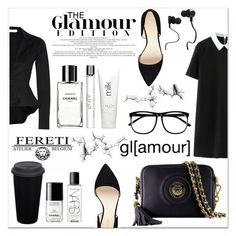 """""""# I/13 Fereti"""" by lucky-1990 ❤ liked on Polyvore featuring Nine West, H&M, Chanel, philosophy, H2O+, Monster, NARS Cosmetics and Fereti"""