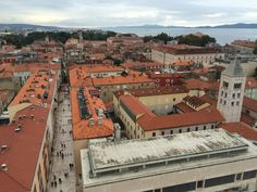 Climb Zadar cathedral's campanile for the best views of the city - and Adriatic beyond