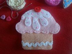 Cupcake aus Filz
