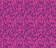 Wild-Pink & Purple - bohemiangypsyjane - Spoonflower