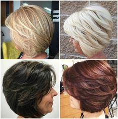 Modische Frisuren Halblang
