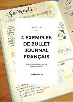 Bullet Journal français, les meilleures sources d'inspiration pour un BuJo en français. 4 françaises qui font du Bullet Journal.