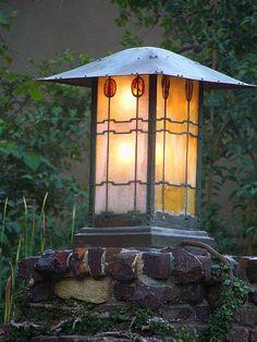 Greene and Greene Lantern by sfPhotocraft, via Flickr