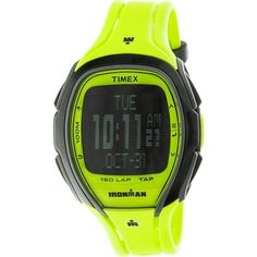 Timex Men's Ironman Sleek TW5M00400 Yellow Resin Quartz Sport Watch