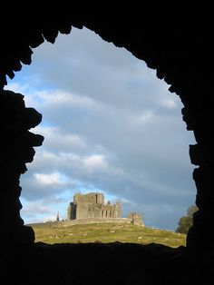 The Rock of Cashel, Ireland  This is an interesting place to see!