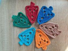 Mode | Membership Crochet Earrings, Jewelry, Tutorial Crochet, Tutorials, Holiday Tree, Handarbeit, Jewels, Schmuck, Jewerly