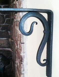 Hey, I found this really awesome Etsy listing at https://www.etsy.com/listing/252641316/hand-forged-shelf-bracket-iron-metal