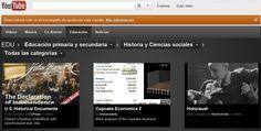 Canales educativos por Youtube