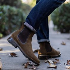 Great materials. Great boots. Thursday Boots #mensboots