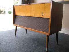 Grundig Mid-Century Record Player Cabinet, $180.