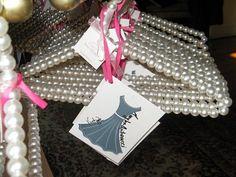 Little Black Dress Bridal Shower - Hangers Couture LLC Bridal Shower Favors, Wedding Favors, Wedding Ideas, Lingerie Storage, Sparkle Crafts, Bella Wedding, Best Friend Jewelry, Wedding Details, Bridal Dresses