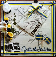 made by Annelie...: Sonens studentkort....