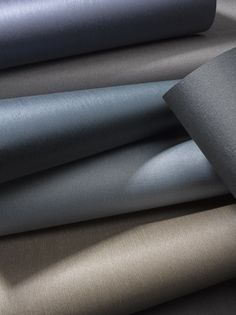 The glistening trail of #raindrops inspires two collections: #smooth as satin. Sateen Club, with a subtle #vertical strie and its new pearlescent counterpart, Sateen Shimmer. #Woven of fine rayon yarns for the look of real #satin, a pearlescent coating is added to Sateen Shimmer.