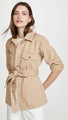 The Jeffery Safari Jacket