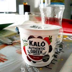 Last night i did the bravest thing and tried Kalo! New product ok not that brave but... didn't see the advert before i got it ..... its actually what you would expect... not to many berries smooth and thick. Would of been great if it was pro biotic too but o well. Good for athletes that extra protein!  #highinprotein #kalo #yogurt #greek #processed #berries #packingdesign #yummyinmytummy #fun #thursday #friday #friyay #greekyogurt #nzmade #dairy #cowsmilk #cows #moo #blueberry #strawberrys…