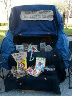 trunk or treat decorating ideas   ... and Sassy Crafts: 18. Cereal Killer Halloween (for Trunk or Treat
