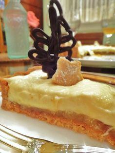 Torta de cupuaçu com massa de castanha-do-Pará