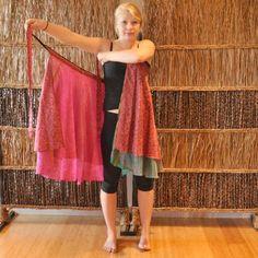 Magic Wrap Skirt Style Tutorial: Athena Tunic | Mexicali Blues Blog